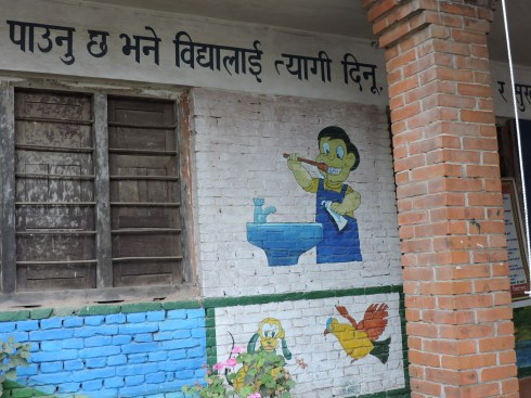 Kindergarten promissing good education in hygiene