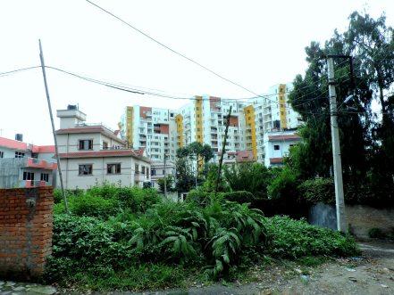 New apartment buildings near Bishalnagar where I live